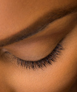 Lashes Before